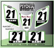 ATV Number Graphics   Layer Design   Black / Green