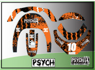 Neck Brace Graphics | Psych Design