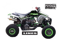 ATV Full Graphics Kit | Lines Design