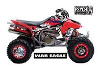 ATV Graphics / www.psychmxgrafix.com / War eagle Design