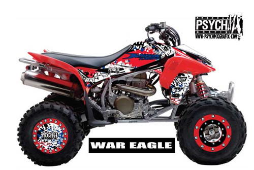 ATV Graphics / www.psychmxgrafix.com / War eagle Design