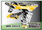 ATV Graphics / www.psychmxgrafix.com / War Eagle Design / White, Canam Yellow & Black