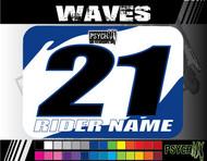 ATV Number Graphics | Waves Design