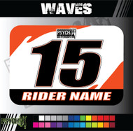 ATV Number Graphics | Waves Design