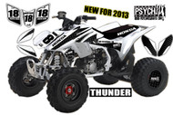 Black & White / Thunder / www.psychmxgrafix.com (On Quad)
