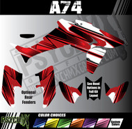 ATV Full Graphics Kit | A74 Design