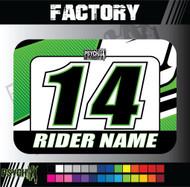 ATV Number Graphics | Factory Design
