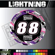 ATV Mud Plug Graphics | Lightning Design