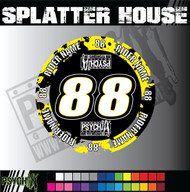 ATV Mud Plug Graphics | Splatter House Design