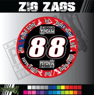 ATV Mud Plug Graphics | Zig Zags Design