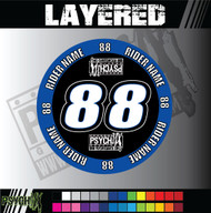 ATV Mud Plug Graphics | Layered Design