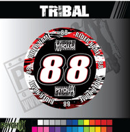 ATV Mud Plug Graphics | Tribal Design