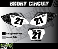 Dirt Bike Number Graphics | Short Circuit Design