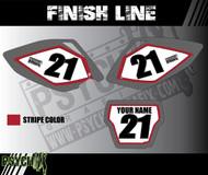Dirt Bike Number Graphics | FINISH LINE