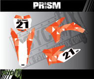 The Prism design can be adjusted to fit any color scheme.
