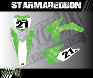 The Starmageddon design can be adjusted to fit any color scheme.