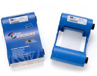 800017-248 | Zebra iSeries color cartridge ribbon, 6 Panel YMCKOK with 1 cleaning roller, 165 images