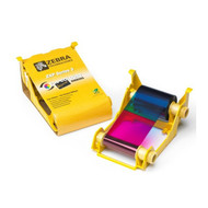 Zebra ix Series High Capacity color ribbon for ZXP Series 3 YMCKO 280 IMAGES | 800033-340 | 800033-340