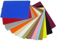 ZEBRA COLOR PVC CARD - RED, 30 MIL (500 CARDS)