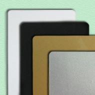 Zebra color PVC card - green 30 mil (500 cards) 104523-135   104523-135