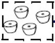 P1083320-095 | Feet for printer | P1083320-095
