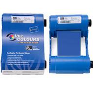 Zebra iSeries blue monochrome ribbon cartridge for P1xx printers, 1000 images   800015-904