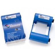 Zebra iSeries white monochrome ribbon cartridge for P1xx printers, 850 images   800015-909