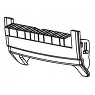 Front Bezel, Dispenser (Thermal Transfer) | 105934-031