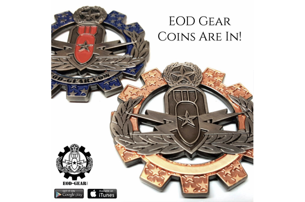 EOD Gear Challenge Coin