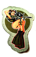 Combat Dive Girl Patch