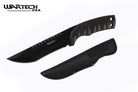 "15"" Wartech USA Tactical Knife Black Blade with Sheath"