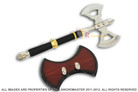 Viking Double Blade Battle Tomahawk Axe with Wall Plaque Very Rare