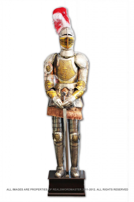 79 medieval knights full body 2 tone decoration armor for Armor decoration