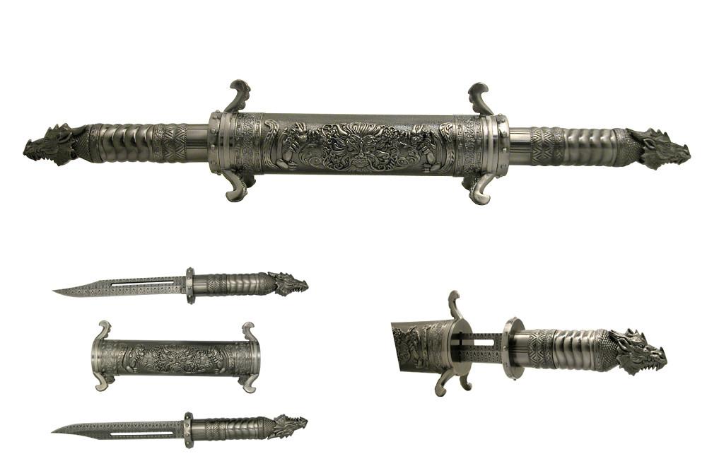 Metallic_Twin_Dragon_Scroll_Daggers_Silver_Swords_Damascus_Laser_Etched_Bladed__91590.1350772630.1000.675.JPG
