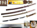 Japanese Officer Sword Handmade T10 Type 98 Gunto Katana Sword WWII