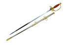 "35"" Freemason Dress Crusader Templar Knight of St. John Masonic Sword"