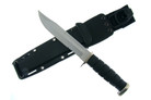 "12"" Silver Kabar Style Military Marine Tactical Survival Knife with Sheath"
