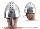 Medieval Norman Nasal Helm Knight Helmet 18 Gauge Steel