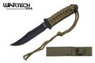 "Wartech USA 7.5"" Fixed Blade Tactical Survival Knife"