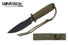 "7"" Military Tactical Fixed Blade Boot Knife w/ Sheath Hunting Combat"