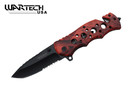 "8"" Tactical SWAT Spring Assisted Opening Rescue Folding Knife - YCS7011OCM"