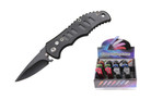 12 Pcs Mini Tactical Assisted Opening Rescue Folding Knife - Mix Colors -C