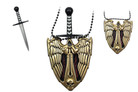 Gold Evil Angel Necklace