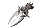 "15"" Fantasy Knife Wrist Mounted Triple Blade Dagger"