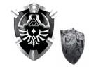 Dark Legend of Zelda Hylian Shield Twilight Princess