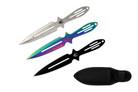 "3pc Set Aero Blades 6.5"" Throwing Knives Tarantula Series"