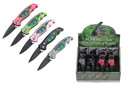 12 Pieces Marijuana Auto Mini Folding Knife