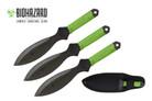 "6.5"" Biohazard Zombie Killer Throwing knife - 3 Pcs Set"
