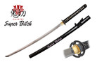 "Onikiri ""Super Bitch"" Katana Sword with Musashi Tsuba - Black"