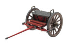 "12"" Civil War Cannon Cart"